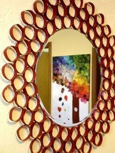 toilet paper mirror