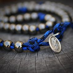 Law Enforcement Officer's Paracord Rosary | CordBands