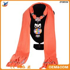 Check out this product on Alibaba.com App:wholesale Europe Fashion Spring Autumn Women Scarf Owl With Green Stone Jewelry Pendant Necklace Scarves https://m.alibaba.com/q2miai