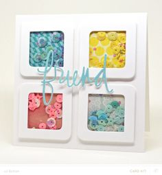JJ Bolton {Handmade Cards}: love the shakers