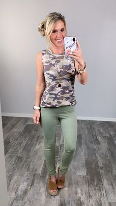 Affordable Stylish Camo Clothes styled so many ways! #streetstyle #affordablefashion #casualstyle #ootdfashion #style #ootd #summerfashion #flannel #blogger #travel #vacationstyle #fashionlover #fashionblogger #summerstyle #boutiquefashion #womensfashionoutfit #summeroutfit #dress #layeringdress #casualstyle #casualfashion #joggers #comfyoutfit #kimono #swimwear #homefashion #summervibes #womensfashion #onlineshopping #onlineboutique #momstyle #kimono Ootd Fashion, Fashion Boutique, Fashion Outfits, Womens Fashion, Camo Clothes, Camo Outfits, Vacation Style, Comfy Casual, Camo Print