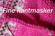 Hvordan lage dekorative kantmasker Friendship Bracelets, Knitting, Diy, Prepping, Tricot, Bricolage, Breien, Stricken, Do It Yourself