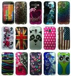 For Motorola Moto G Cover Design Hard Protective Snap On Accessory Case