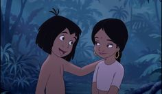 The Jungle Book 2 - Disney Screencaps Disney Pixar, Old Disney, Disney Animation, Disney Movies, Disneytoon Studios, The Jungle Book 2, Tarzan And Jane, Disney Couples, Book Projects