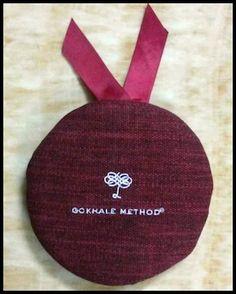 Gokhale Method Head Cushion   Gokhale Method Institute