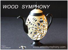 Teapot by Larisa Safaryan www.woodsymphony.com