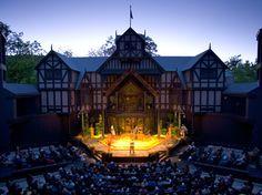 Oregon Shakespeare Festival outdoor theater, Ashland, Oregon
