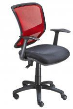 The Bizz mesh back is a comfortable, airy operators chair and come standard with arms. The Bizz operators chair is available with a black or red mesh back. Chairs, Mesh, Furniture, Home Decor, Decoration Home, Room Decor, Home Furnishings, Stool, Side Chairs