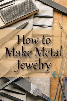 Turn metal sheet & wire into amazing bracelets, necklaces & more with this FREE eBook on how to make metal jewelry. #diy #metaljewelry