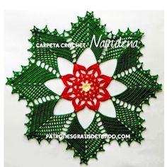 Christmas doily pattern