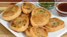 Samosa Pinwheels – Indian Gourmet Appetizer Recipe by Manjula