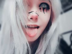 39ab1eba3 10 mejores imágenes de maquillaje (emo)   Makeup inspo, Dark makeup ...