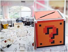 Erica and Rob's Sci-Fi, Comic Books, and Video Games-inspired DIY Wedding Yes.