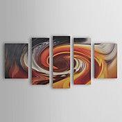 pintados a mano, pintura al óleo abstracta co... – EUR € 107.24
