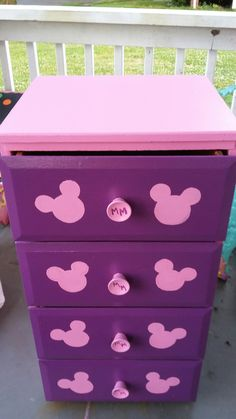 Mickey Mouse Dresser