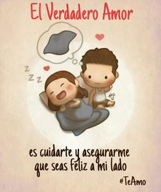 Pin by alma gonzalez on ay amor! Frases Love, Qoutes About Love, Amor Quotes, Wife Quotes, Cute Love Stories, Love Story, Hj Story, Love Is Comic, Love Phrases