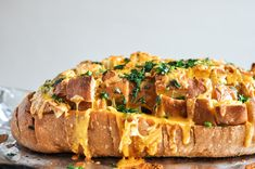Cheddar Tailgating Bread.  Holy heck.