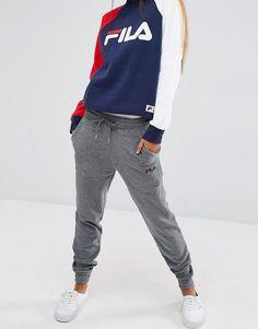 Image 4 - Fila - Pantalon de survêtement boyfriend style baggy