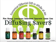 Diffusing young living oils