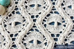 Crochet Lace Spider Stitch Diagram + step by step instructions