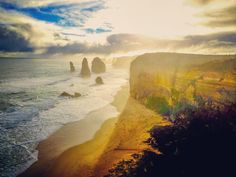 Day 6 of nature photography challenge goes to this sunset view of the 12 Apostles along the Great Ocean Road Australia  #naturephotography #sunset #12apostles #australia #aussie #australia_shotz #greatoceanroad #victoria #melbourne #photography #canon #travel #wanderlust #throwback #adventure #abroad #sky #ocean #view #water #takemeback #portcampbell by chelwilli http://ift.tt/1ijk11S