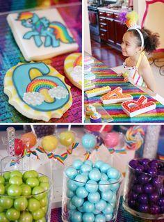 My Little Pony Rainbow Party - so cute
