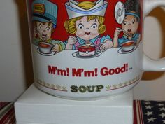Collectible Vintage Cambell's M'm M'm Good by TrueColorsBoutique, $10.00