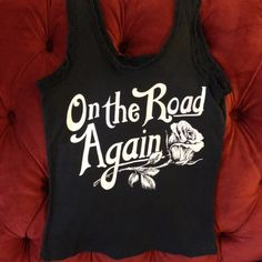 Bandit Brand-On The Road Again Tank – Sacred Empire