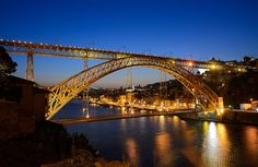 Dom Luís Bridge - Porto - Portugal