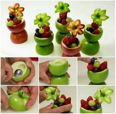 DIY Fruit Picture. See this tutorial here