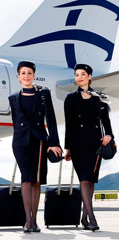 'They [flight attendants] have the skill and experience to turn from waitresses to policewomen in an instant, depending on the situation. To drop their prepacked meals and return with plastic handcuffs if the occasion demands.....' - Aegean Airlines Chairman discussing cabin crew training.