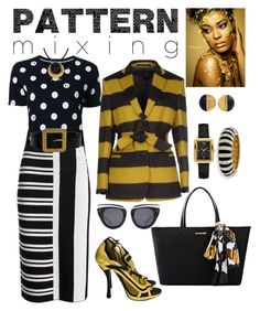 """BLACK, WHITE, & GOLD"" by carolsha on Polyvore featuring Guild Prime, Theory, Mauro Grifoni, Chanel, Stefano Patriarchi, Prada, Love Moschino, HOOK LDN and Kenneth Jay Lane"
