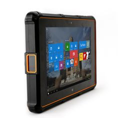 """Seal 8: The rugged tablet for ruling your world. Unbreakable 8"""" screen. Barcode scanner. Fingerprint reader. Wi-Fi and 4G/LTE Net. Powered by Windows 10."""