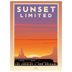 Sunset Limited Poster~