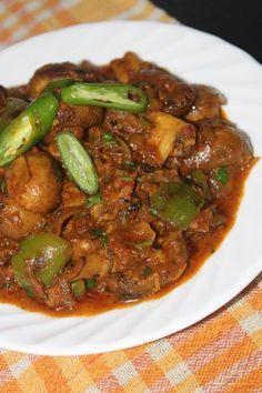 Tandoori mushroom masala