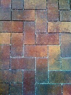 If you must have brick---Belgard eco holland harvest blend