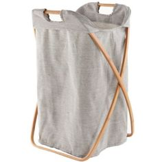 Load Bearing Single Laundry Hamper  | Crate and Barrel