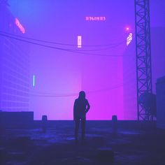The Suerb Digital Neon Art Of Nick Kempton – Design You Trust Violet Aesthetic, Purple Aesthetic, Verona, Cyberpunk Aesthetic, Cyberpunk City, Neon Noir, Neon Purple, Retro Futurism, Neon Lighting