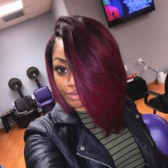 Awesome Weave Hairstyles with Color Stock Dope Hairstyles, Weave Hairstyles, Pretty Hairstyles, Love Hair, Gorgeous Hair, Curly Hair Styles, Natural Hair Styles, Birthday Hair, Pelo Afro
