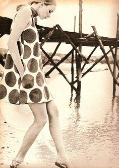 Elle May 67dot dress