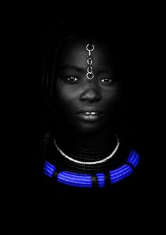 #Photograph #Woman from  #Namibia. For more inspiration go to http://memoir.pt/