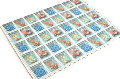 25 Minerals Postage Stamps - - 1992 - Unused - Quantity of 25