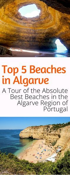 Top 5 Beaches in Algarve Portugal: Visited by millions of people a year, Algarve boasts picture-perfect little towns, Mediterranean climate, mouthwatering cuisine, and above all else stunning beaches. Click here to learn about the best beaches in Algarve Portugal.