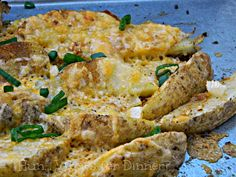 Hun... Whats for Dinner?: Cheesy Potato Wedges