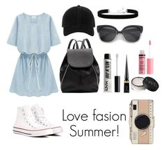 """Summer style #Personalfave"" by andreavall on Polyvore featuring rag & bone, Converse, Witchery, 2028, NYX, Christian Louboutin, Charlotte Russe and Kate Spade"
