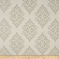 Eroica Chelsea Jacquard Sand from @fabricdotcom  This lightweight woven jacquard fabric has a slight sheen and is perfect for window…