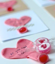 Schnell selbstgemacht: Karten zum Valentinstag. Für den Partner, für die Familie, für Freunde.  DIY: Valentine's Cards