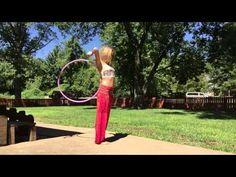 Hoop Tutorial: Behind The Back Sweep - YouTube