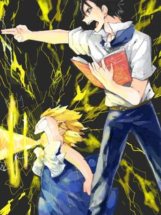 Zatch Bell and kiyo