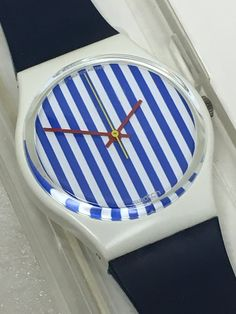 Mint Condition Vintage Swatch Watch Newport Two by ThatIsSoFunny